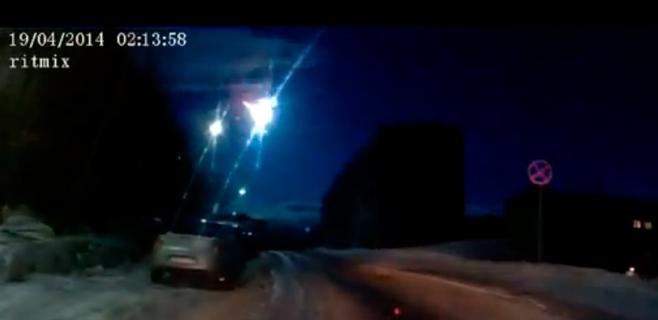 Cae otro meteorito sobre Rusia