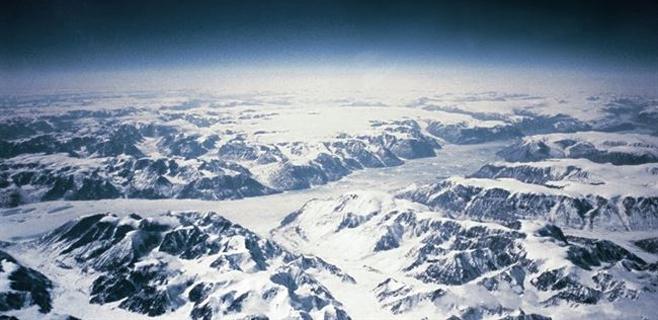 Un paisaje de hace 3 millones de años enterrado en el hielo