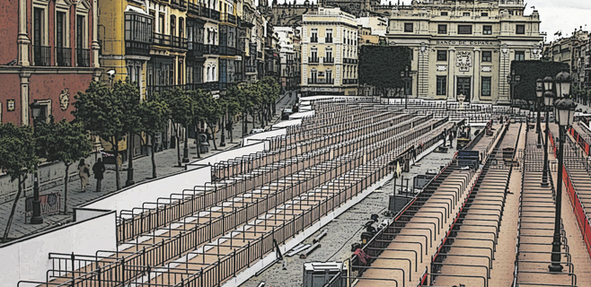 Las terrazas de Palma piden a Cort que sea estricto con Trui por las gradas