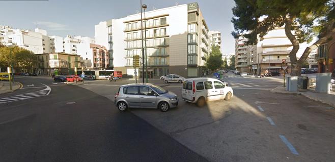 Atropellada en Palma una mujer por un 4x4 que después se dió a la fuga