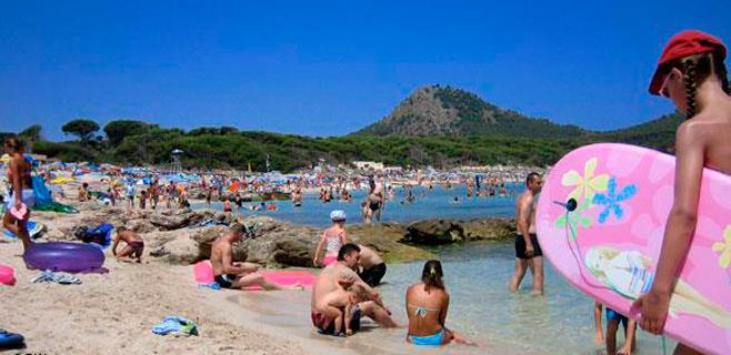 Balears tuvo el 9 de agosto una carga demográfica de 1.934.395 personas