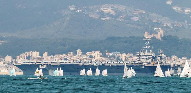 Los lectores piden la vuelta de buques de la Armada norteamericana a Palma