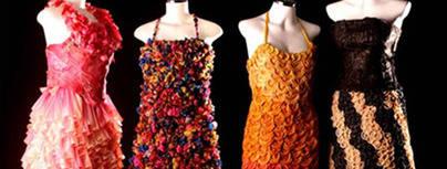 Preservativos para confeccionar vestidos