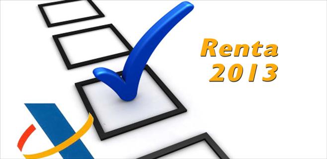 Ya se puede presentar la renta de 2013