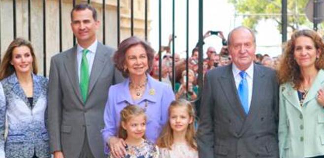 El Rey vuelve a Palma por Pascua