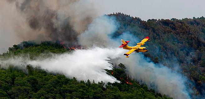 Empieza en Eivissa el juicio por el grave incendio de la Serra de Morna