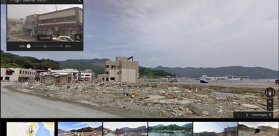 Google Street View te lleva a viajar en el tiempo
