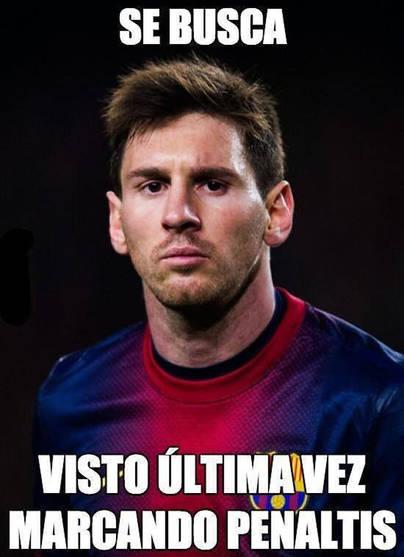 Se busca a Leo Messi