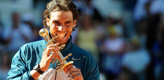 Nadal revalida título en Madrid