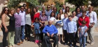 Marratxí homenajea a José Calvo Calvo en su 100 cumpleaños