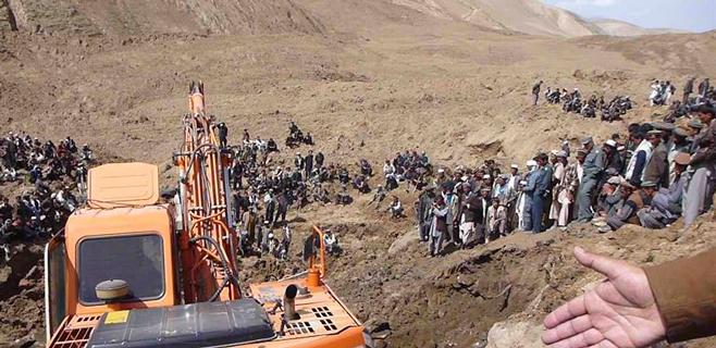 Más de 2.500 muertos por un corrimiento de tierra en Afganistán