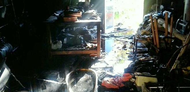 Un incendio acaba con un trastero en Manacor