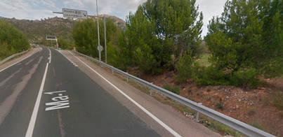 Un conductor muere en un choque frontal entre Paguera y Andratx