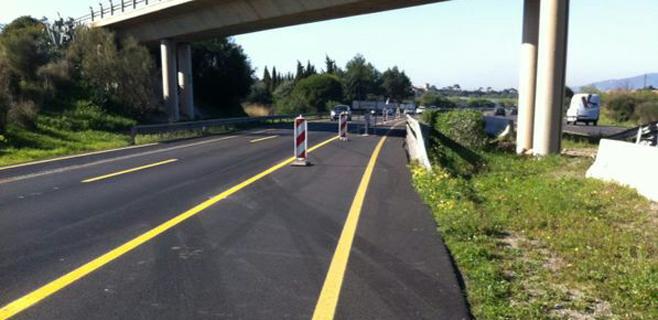 El Consell inicia el asfaltado del tercer carril del autopista de Inca