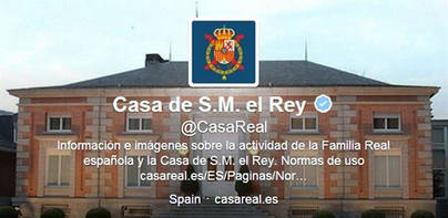 La Casa Real se estrena en Twitter