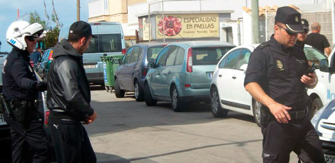 Dos detenidos por un altercado con destrozos en un súper de Can Pastilla