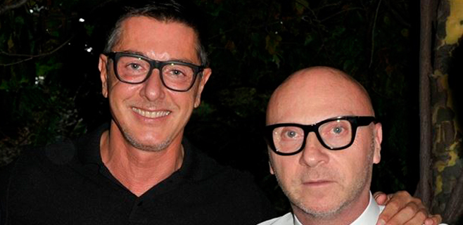 18 meses de cárcel para Dolce & Gabbana