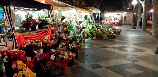 Refuerzos florales nocturnos para el Día de la Madre