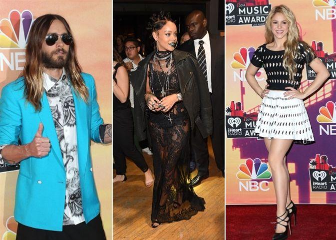 Entrega de los I Heart Radio Music Awards