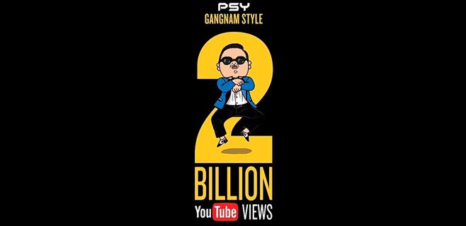 Gangnam Style supera los 2.000 millones de visitas