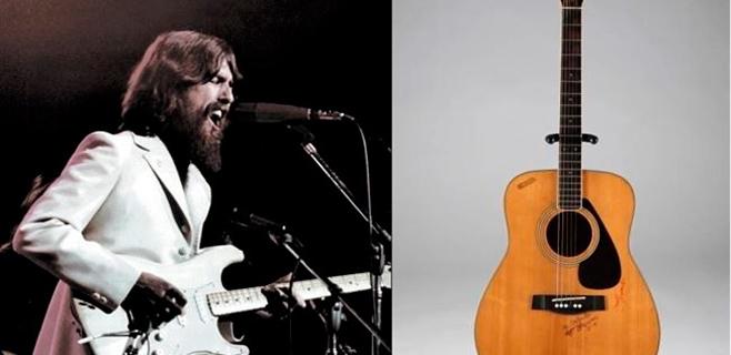 657.000 dólares por una guitarra de George Harrison