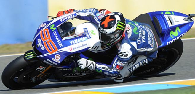 Lorenzo es sexto en Le Mans