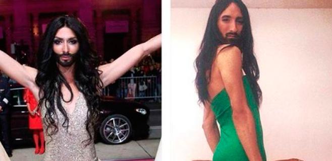 Un mallorquín, doble oficial de Conchita Wurst en España
