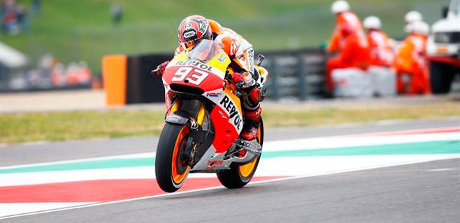 Márquez sigue con el pleno y Lorenzo será tercero