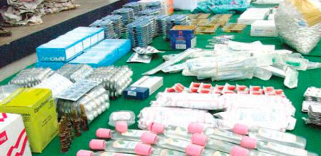 Incautados 420.000 fármacos falsos en Son Sant Joan y otros aeropuertos