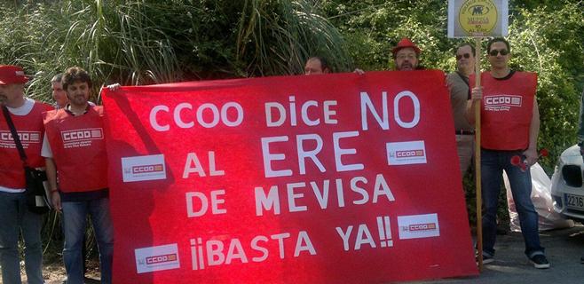 El personal de Mevisa busca hoteles de lujo para protestar contra el ERE