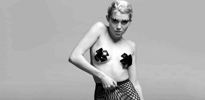 Miley Cyrus juega al sadomasoquismo en su nuevo clip