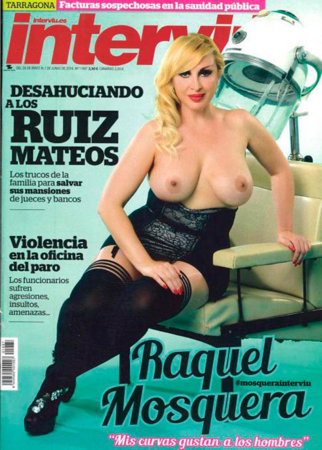Raquel Mosquera se desnuda