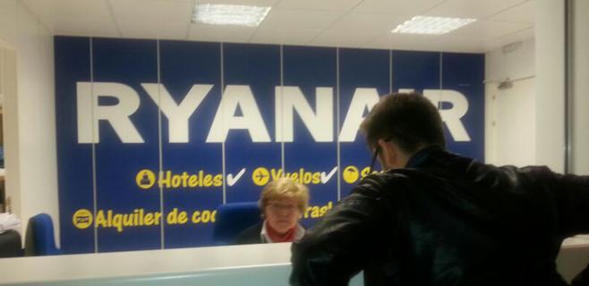 Ryanair gana un 8 % menos