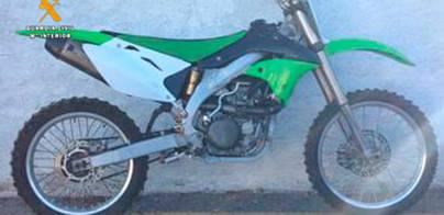 Detenidos por robar motos y piezas y venderlas en webs 'de segunda mano'