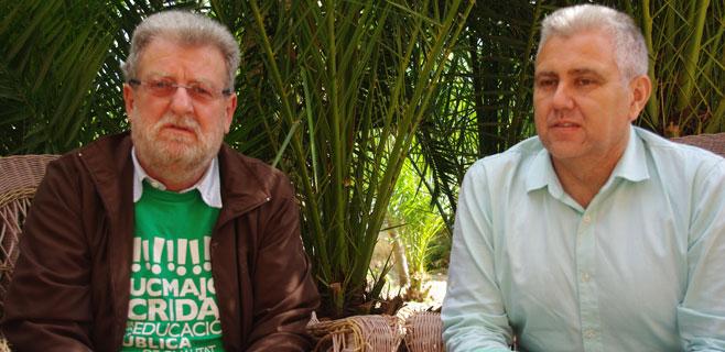 Josep Melià (PI) visita a Jaume Sastre
