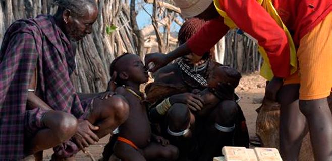 La OMS declara la polio Emergencia mundial de Salud Pública