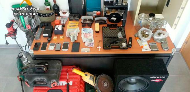 4 detenidos como responsables de 50 robos en Calvià y en Santa Maria