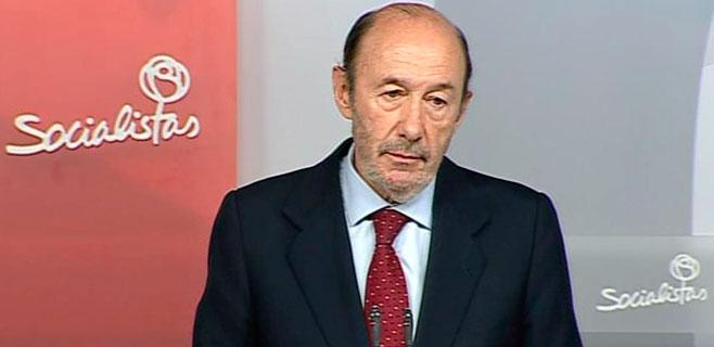 El PSIB de Palma pide explicaciones a Rubalcaba por pactar con el PP la sucesión