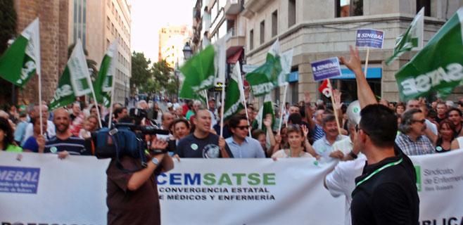 Satse anuncia movilizaciones en la sanidad hasta el final de la legislatura