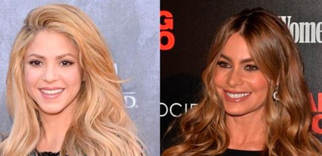 Shakira y Sofía Vergara, entre las más poderosas