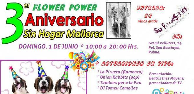 Fiesta III Aniversario de Sin Hogar Mallorca