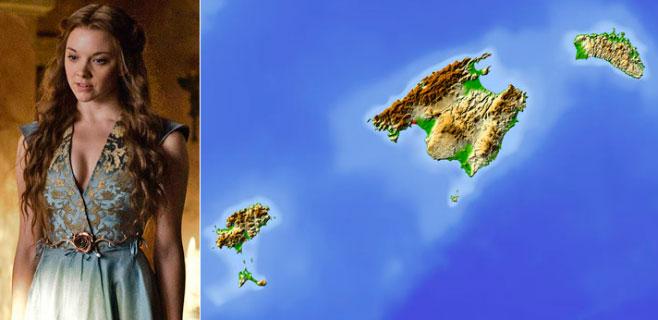 Balears pertenece a la familia Tyrell de Juego de Tronos