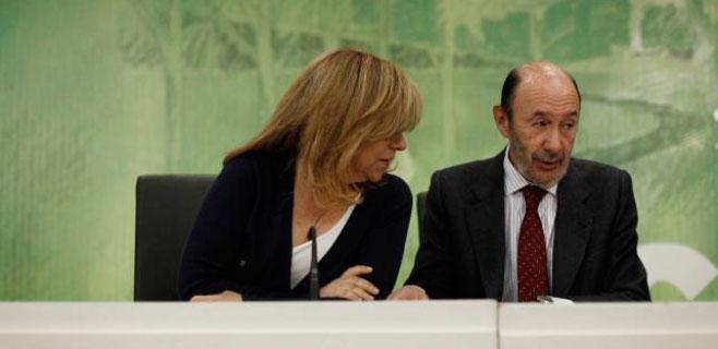 Rubalcaba y Valenciano también esquivarán Balears durante la campaña
