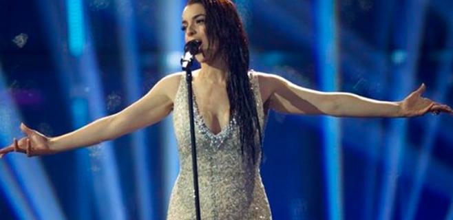 Polémica por el vestido de Ruth Lorenzo en Eurovisión