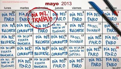 Otros 'días' en el mes de mayo