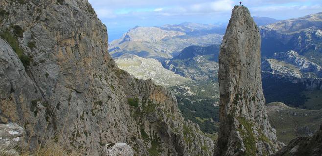 Los escaladores heridos en el Puig Major están estables y fuera de peligro