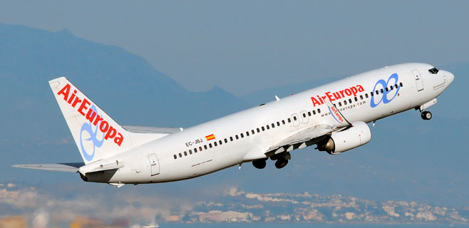 Air Europa es la tercera compañía aérea más puntual de todo el mundo
