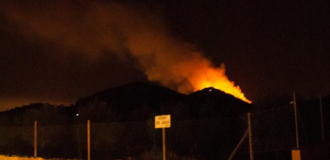 Extinguido el incendio de Alcúdia