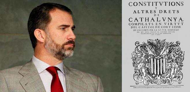 Felipe VI será en realidad Felipe V en Balears y Catalunya