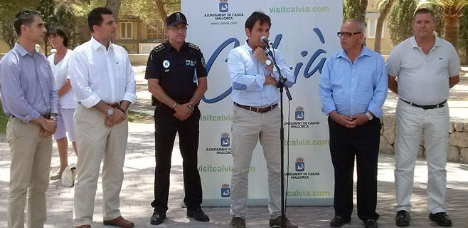 Calvià tendrá 43 policías esta temporada